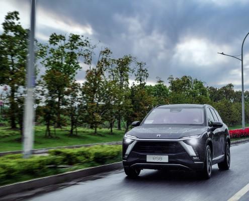 NIO 2020 ES8 drive