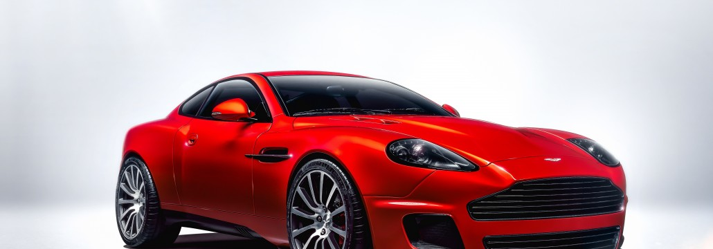 Aston Martin Vanquish 25 Front 3QTR
